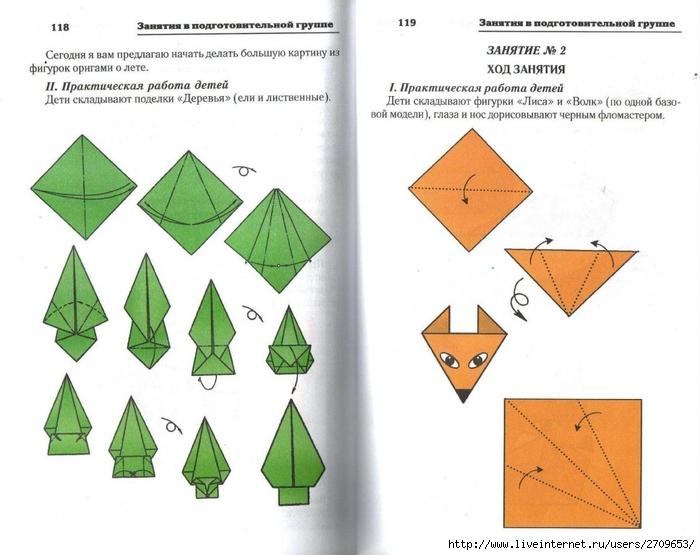 Поделки из бумаги оригами для детей 7 лет