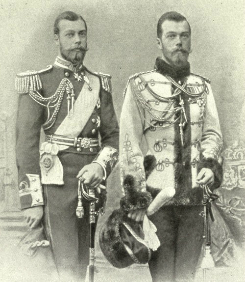181815-Prince_George_later_King_George_V_of_England_and_Tsar_Nicholas_II_of_R (500x574, 198Kb)
