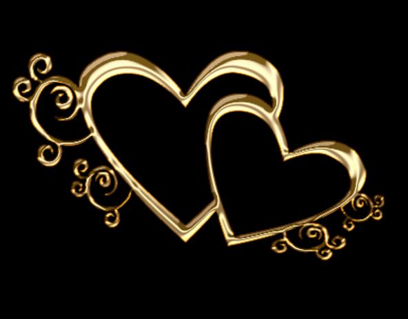 Клипарт. Красивые сердечки в png (15) (592x462, 197Kb)