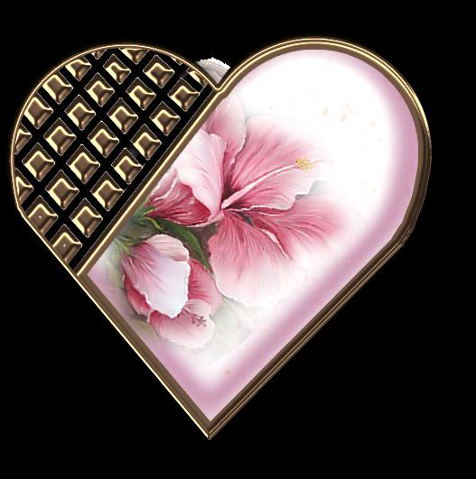 Клипарт. Красивые сердечки в png (30) (527x531, 321Kb)