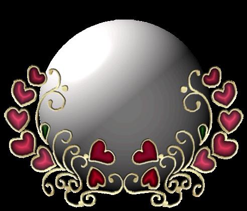 Клипарт. Красивые сердечки в png (34) (492x421, 206Kb)