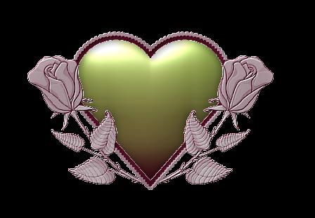 Клипарт. Красивые сердечки в png (36) (448x311, 140Kb)