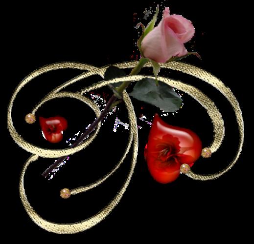Клипарт. Красивые сердечки в png (44) (519x500, 242Kb)