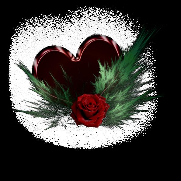Клипарт. Красивые сердечки в png (46) (595x595, 420Kb)