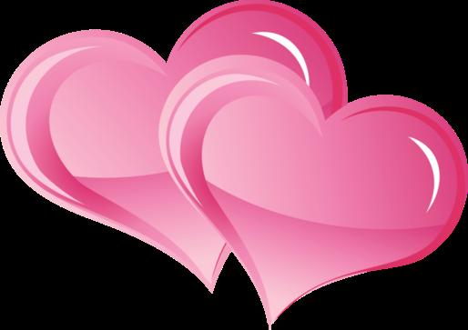 Клипарт. Красивые сердечки в png (50) (514x363, 85Kb)