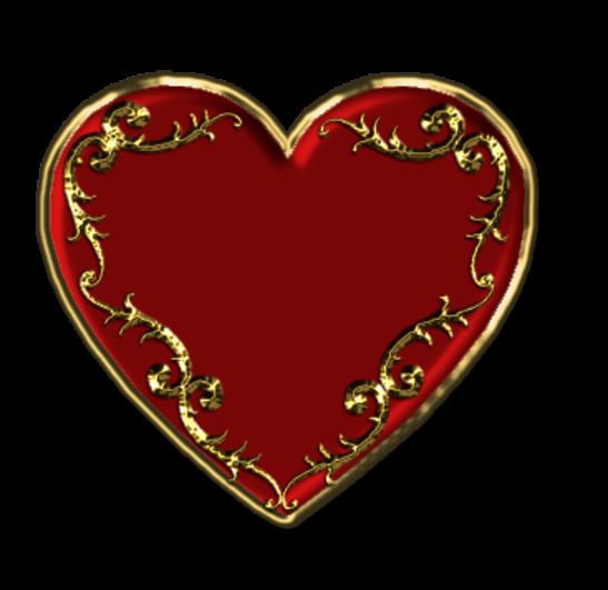 Клипарт. Красивые сердечки в png (52) (547x531, 194Kb)