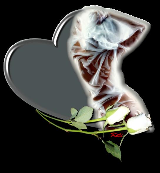 Клипарт. Красивые сердечки в png (54) (544x590, 344Kb)