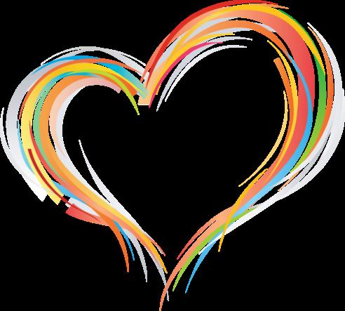 Клипарт. Красивые сердечки в png (59) (492x443, 137Kb)