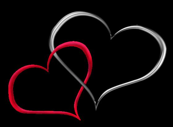 Клипарт. Красивые сердечки в png (65) (558x411, 82Kb)