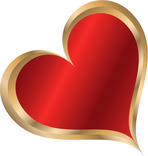 Клипарт. Красивые сердечки в png (67) (516x546, 80Kb)