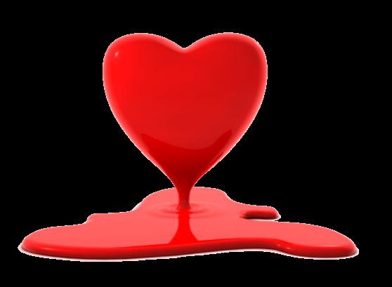 Клипарт. Красивые сердечки в png (69) (558x409, 91Kb)