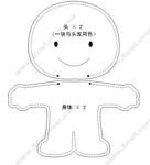 Мастер классы кукол из ткани своими руками Выкройки куклы из ткани Выкройка куколки.