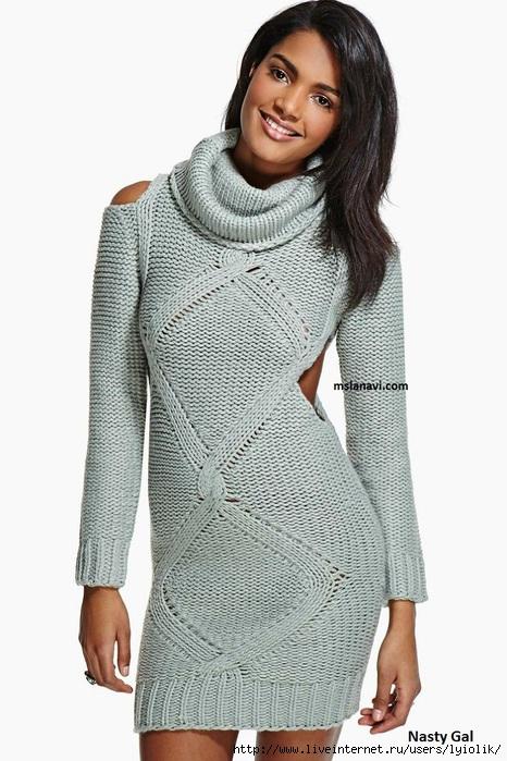 теплое-вязаное-платье-спицами-Nasty_Gal (466x700, 198Kb)