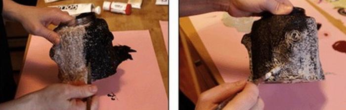 Как сделать искусственный пенек своими руками
