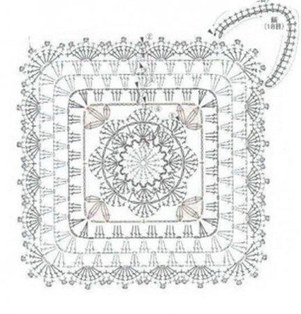 1377078178_08-rozyi-kvadrat-shema-prihvatka-kryuchkom (431x450, 105Kb)