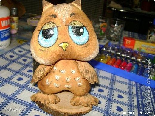 Шьем кофейные игрушки - ароматный СОВЕНОК (1) (520x390, 154Kb)