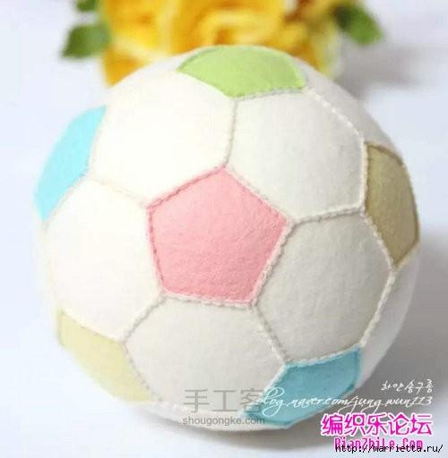 Как сшить футбольный мяч из фетра (16) (500x512, 89Kb)