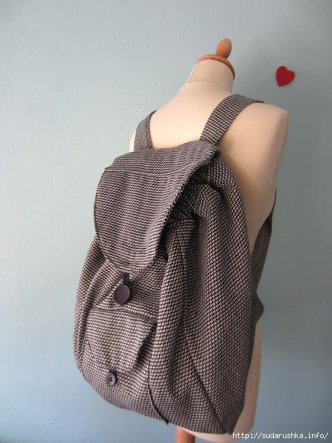 Сумка рюкзак мастер класс ношение в эрго рюкзаке