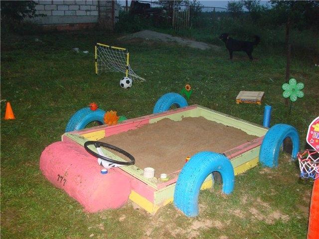 Что можно построить на детской площадке