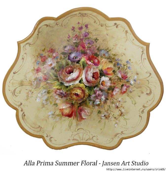 42 Alla Prima Summer Floral (678x700, 287Kb)