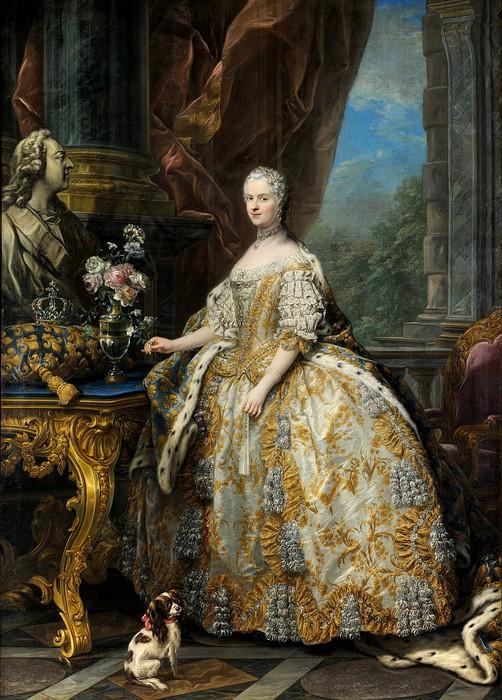 Мария Лещинская, королева Франции (1703-1768) (502x700, 140Kb)