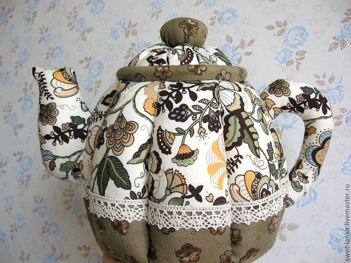 Текстильные грелки на чайник