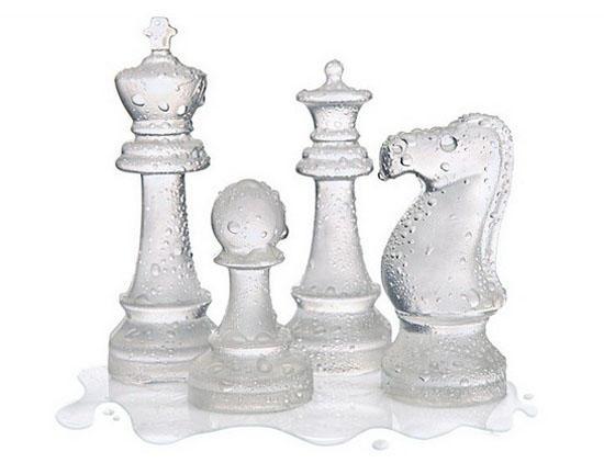 Тающие шахматные фигуры