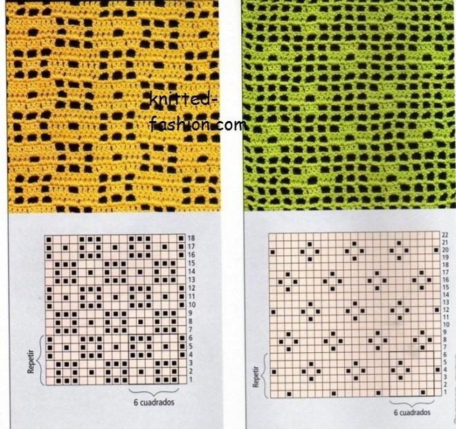 филейные-узоры-крючком-вязание-крючком-схемы-крючком-модели-и-описания (660x620, 497Kb)
