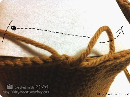 Как связать крючком сумочку - корзинку (20) (500x373, 122Kb)