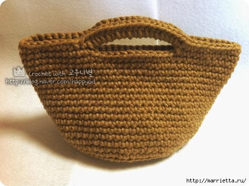 Как связать крючком сумочку - корзинку (26) (500x373, 152Kb)