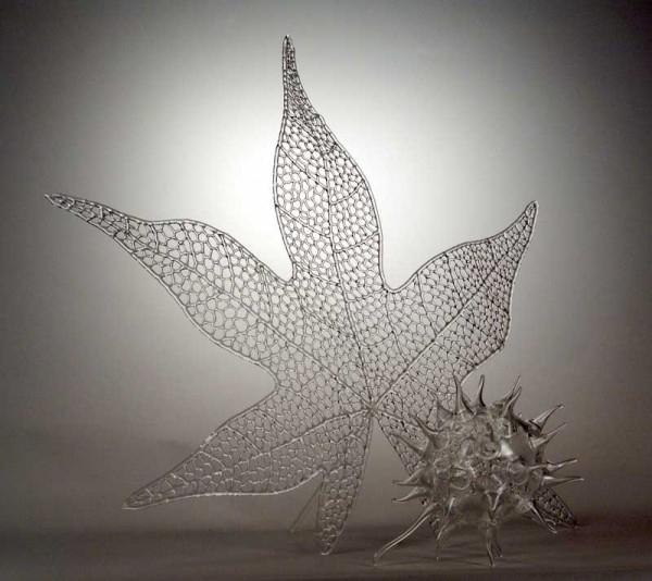 скульптуры из стекла Роберт Микельсон 10 (600x534, 173Kb)