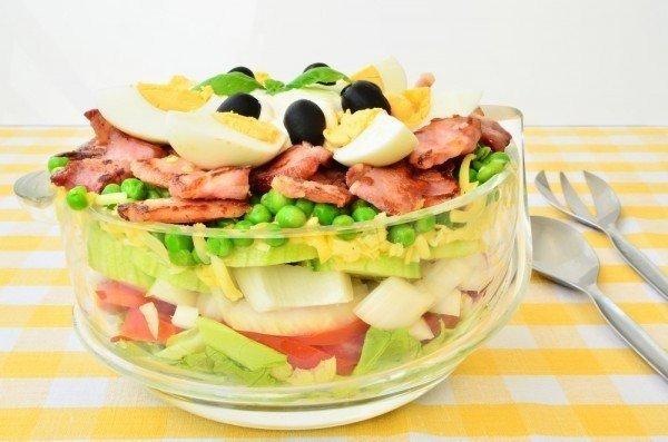 салат с беконом (600x397, 202Kb)