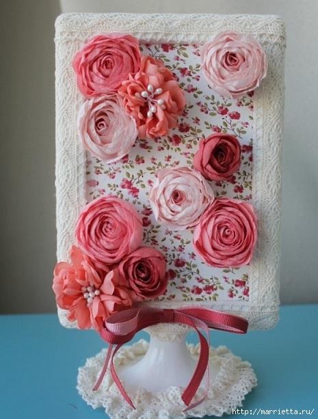 Рамка цветок для фото своими руками