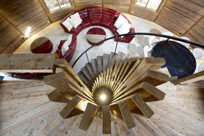 деревянный дом в форме купола 3 (700x466, 307Kb)