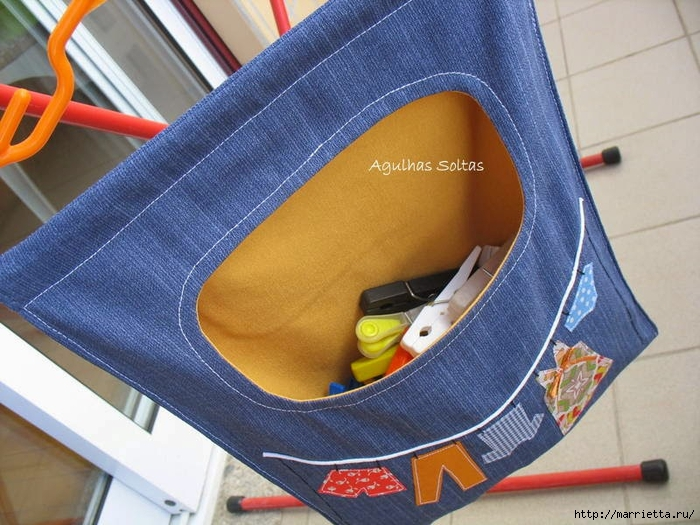 Шьем сумку для прищепок из старых джинсов (2) (700x525, 303Kb)
