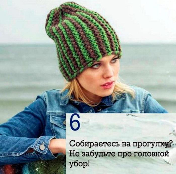 Шапка-бини поперечным вязанием укороченными рядами - Яндекс