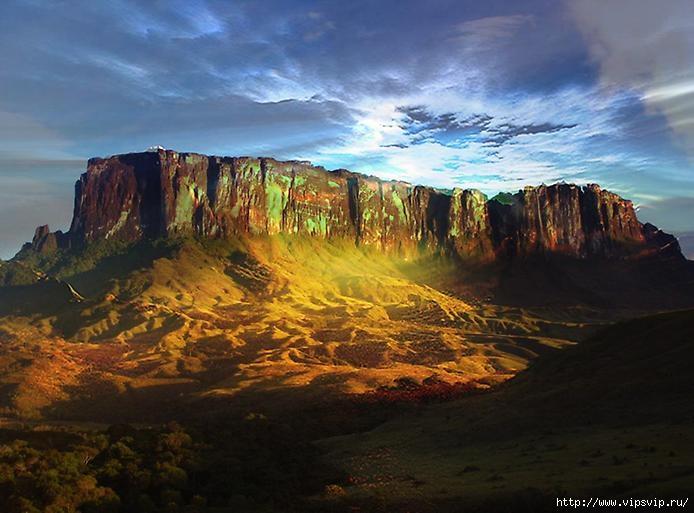 гора �орайма, Венесуэла1 (694x513, 182Kb)