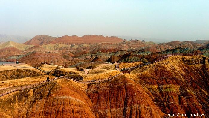 ландшафт Данься в Китае (700x393, 297Kb)