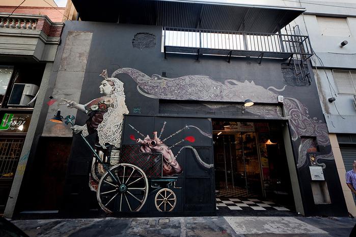 красивый интерьер кафе с промышленном стиле 1 (700x466, 406Kb)