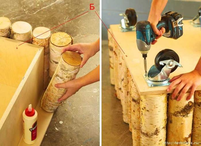 Журнальный столик из дерева своими руками (3) (700x508, 249Kb)