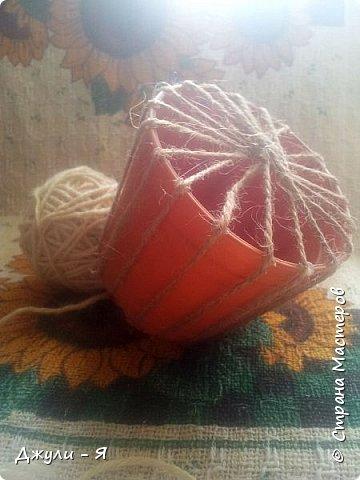 Плетение корзинки из шпагата. Мастер-класс (6) (360x480, 133Kb)