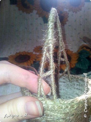 Плетение корзинки из шпагата. Мастер-класс (20) (360x480, 145Kb)