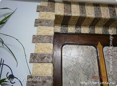 Из яичных лотков. Декоративные КАМНИ для отделки стен (6) (403x296, 107Kb)