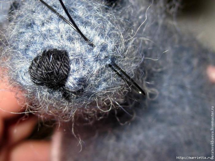Мышка Сонечка спицами. Описание и мк (16) (700x525, 271Kb)
