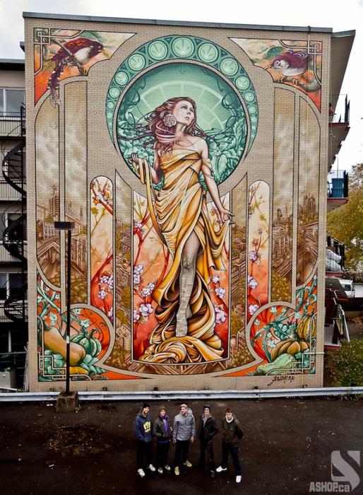 граффити на домах квебека фото 14 (514x700, 495Kb)
