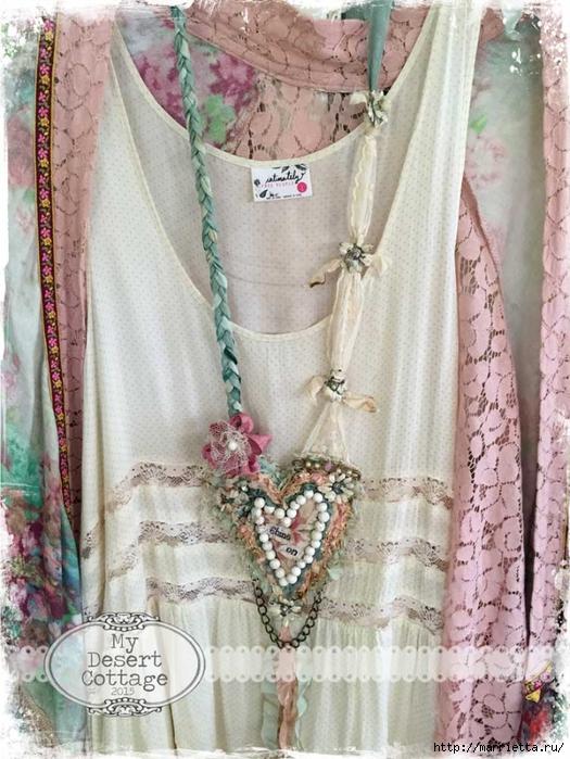 Текстильные подвески - украшения в стиле бохо (1) (525x700, 313Kb)