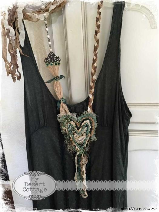 Текстильные подвески - украшения в стиле бохо (3) (525x700, 228Kb)