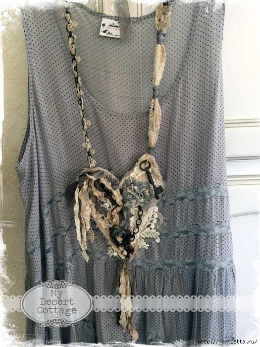 Текстильные подвески - украшения в стиле бохо (5) (525x700, 323Kb)