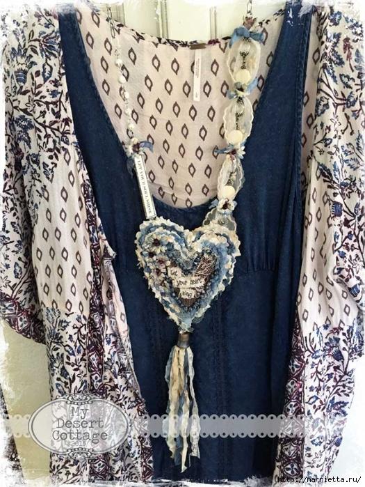 Текстильные подвески - украшения в стиле бохо (7) (525x700, 366Kb)