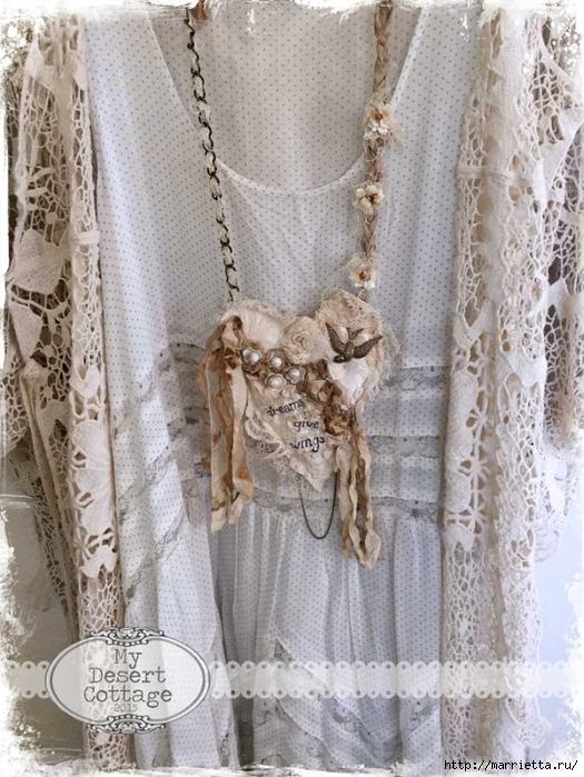 Текстильные подвески - украшения в стиле бохо (9) (525x700, 315Kb)